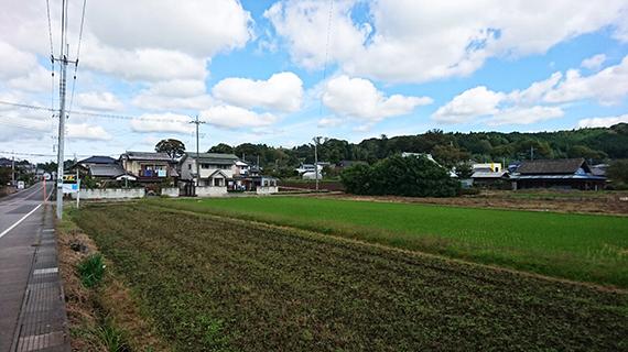 生田目の集落