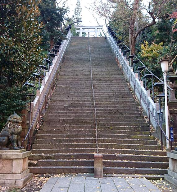 愛宕神社・出世の階段