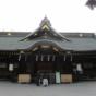 大國魂神社と枝垂れ桜